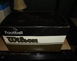Authentic Wilson Tostitos Fiesta Bowl limited edition 1998 football in original box and plastic