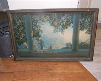 Maxfield Parrish  Daybreak framed print