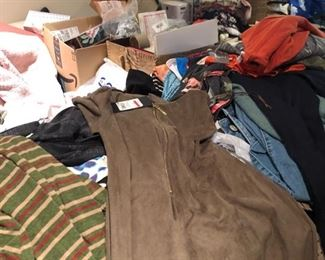 Every room has clothes to sell