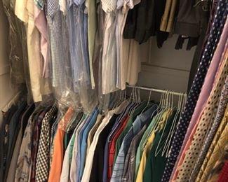 Men's clothes too!