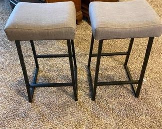 """Barstools Great condition 13"""" x 15"""" x 26"""" tall"""