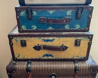 decorative suitcases