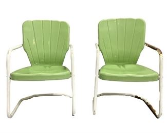 green shell back chairs bgb