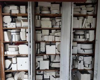 LOTS of ceramic molds