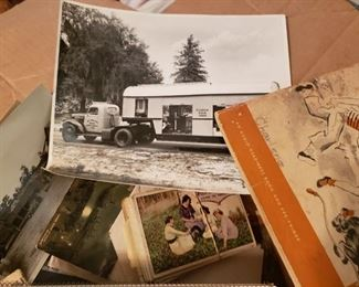 Vintage photographs and post cards