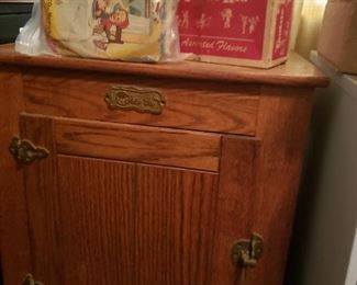 Ice box- I believe this is a reproduction
