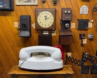 Massive collection of antique and vintage telephone ,  communications,  and Western Electric collection that has formed The Capehart Museum in Corsicana, TX