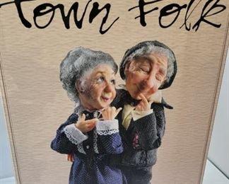 The Jacqueline Kent Collection  Town Folk