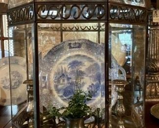 Leaded Glass Dome Case
