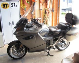 2009 BMW K1300GT Motorcycle only 27000 miles like new. It has heated seats and handle grips.