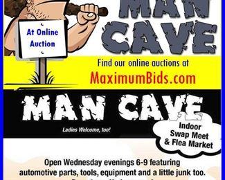 Mancave Auction