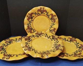 4 Large Platters