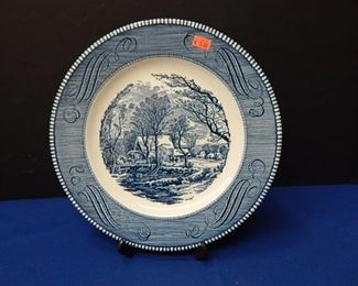 Collectors Plate Old Grist Mill