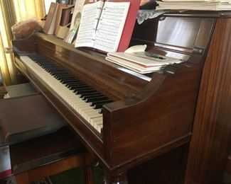 Upright Piano--only played on Sundays buy Talented Church Organist