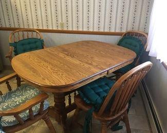 All Wood Dinette Set