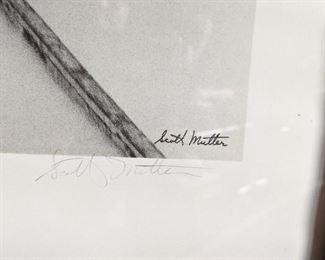 The Graphic Works of Scott Mutter, Northwestern Train