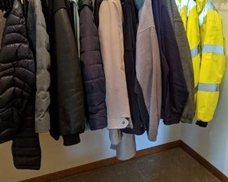 Men's coats 42 R, 44 L, XL-3XL