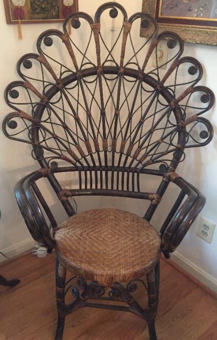 Peacock Chair.