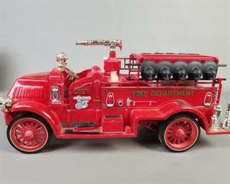 JIM BEAM FIRE TRUCK DECANTER