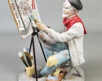 LEFTON ARTIST FIGURINE