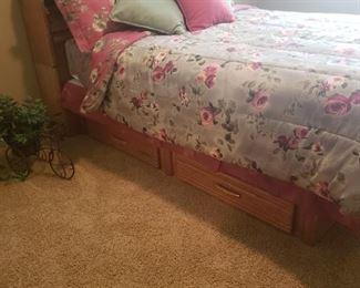 Queen Bedroom Furniture with storage below