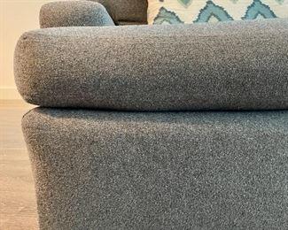 detail- softest felt upholstery!