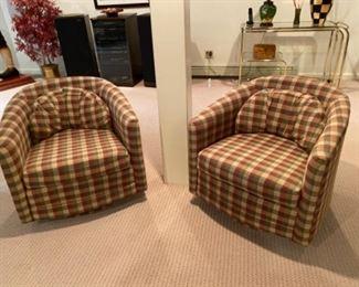 4 swivel chairs