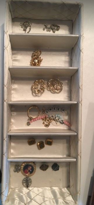 Small pins and Jewelry