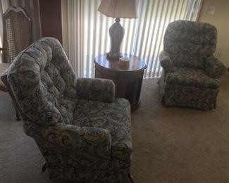Matching Swivel Chairs