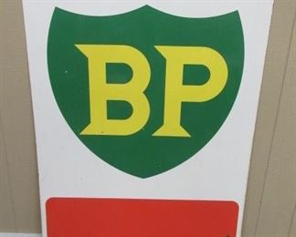 "45"" x 60"" Porcelain Double Sided BP Sign"