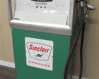 "54"" Tall Sinclair Gas Pump"