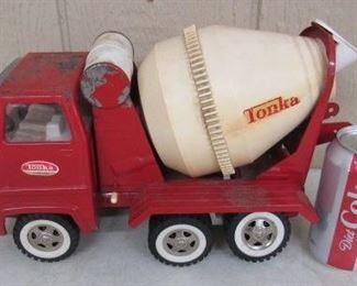 Metal Tonka Toys Cement Mixer