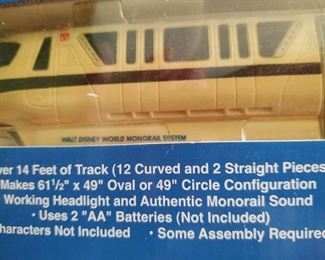 Disney World Monorail train set$120.00