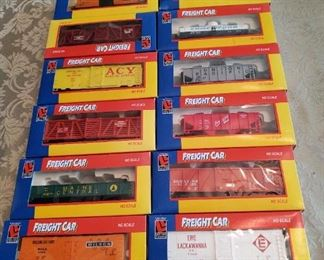 Life Like train cars all $50.00