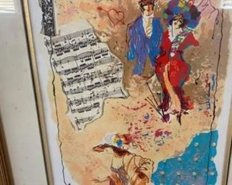 lithograph - signed and numbered -$75.00