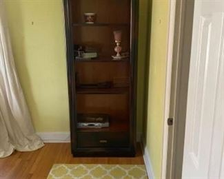 Tall bookcase - $85.00