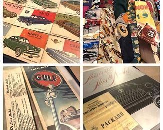 Vintage Brochures...