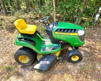 John Deere Riding Lawn Mower 188 hours 2013 approx. up for silent bid.  Bids will be opened at 2 pm on Saturday.