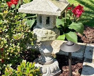 "2-	Large granite Pagoda from Aquascape 32""T x 14""W			$295"