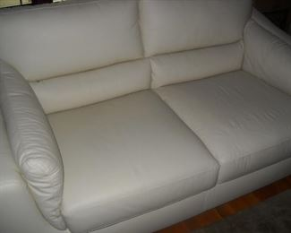 leather love seat from Natuzzi leather furniture FROM HOUSE OF DENMARK