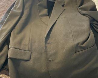 Custom made man's suit