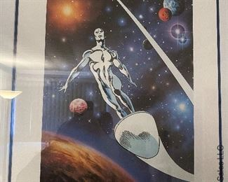 Silver Surfer John Buscema signed and numbered