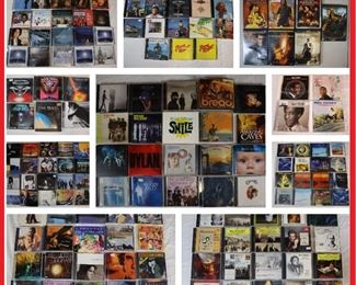 Music Cd's ; Soft Rock, Classical, Jazz, Easy Listening, Folk, Istrumental.