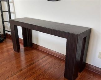 """Arhaus Console Table. Measurements: 17 3/4"""" deep, 63"""" wide, 30"""". Mint condition."""