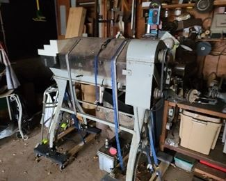 Large Metal Lathe