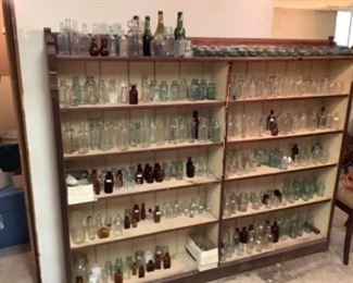 HUGE Antique Bottle Collection