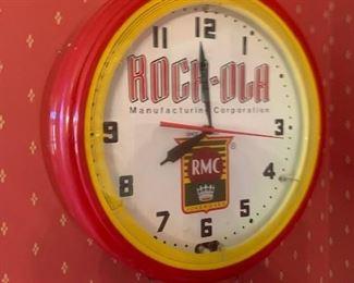Neon Clock $850