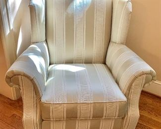 """$295 - Domain arm chair - 42"""" H x 39.5"""" W x 31"""" D, seat height is 20"""""""