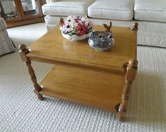 Oak Cocktail Table