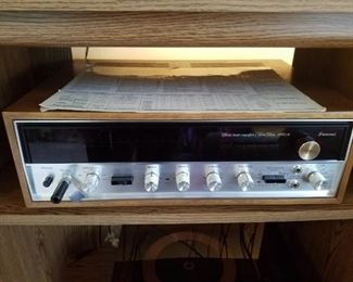Sansui stereo  tuner amplifier  solid state 5000A